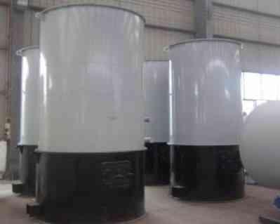 立式燃生物质有机热载体炉