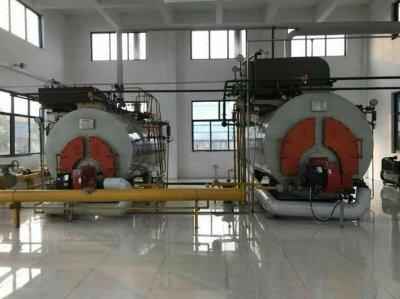 发往河北邢台2台燃气蒸汽锅炉