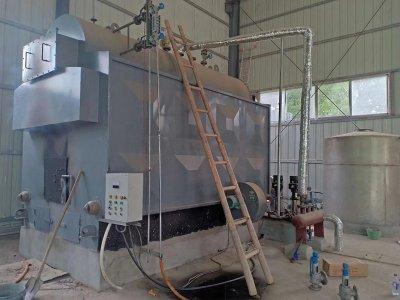 蒸发量1吨生物质蒸汽锅炉发往湖