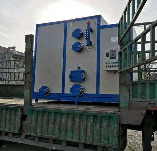 生物质蒸汽发生器发往浙江水洗厂