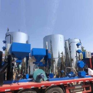 立式1吨生物质蒸汽发生器准备发