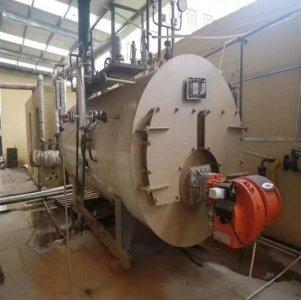 河北廊坊1吨燃气蒸汽锅炉安装调