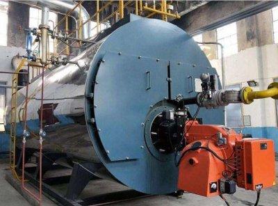 4吨燃油蒸汽锅炉食品厂用户运行